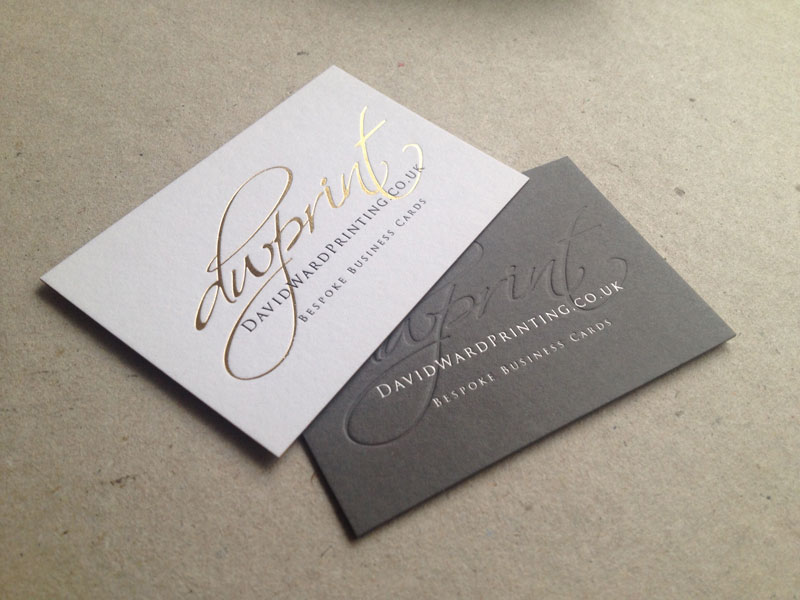 Bespoke Business Card Printing London Gallery - Card Design And Card ...