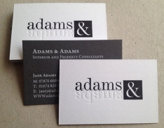 Adams & Adams business cards