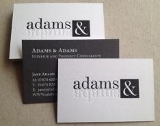 Adams & Adams business cards