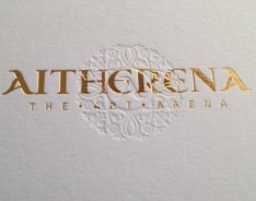 Aitherena business cards