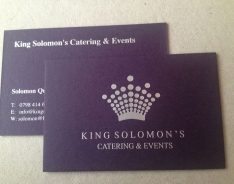 King Solomon business cards