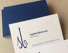 Sophie Björklund business card