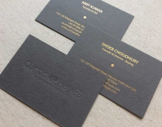 Curtis&Hayes business card