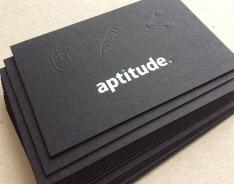 Aptitude business card