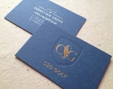 CSG business card