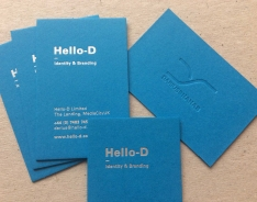 Hello-D business card