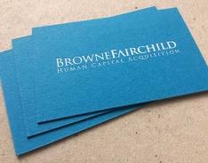 Browne Fairchild business card