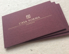 Casa Forma business card