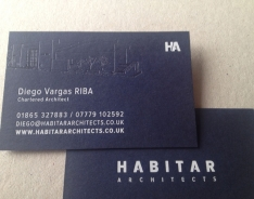 Diego Varas business cards