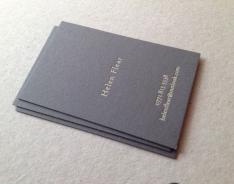 Helen F business card