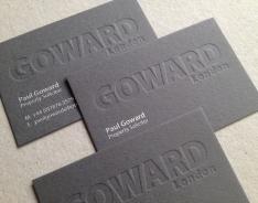 Paul Goward business card