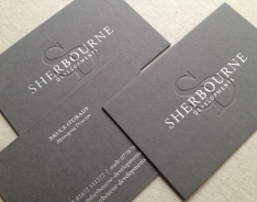 Sherbourne Developments business card
