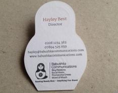 Babushka business cards
