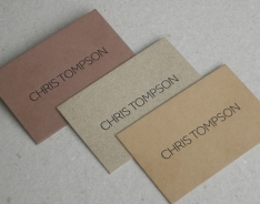 Chris Tompson Business Cards