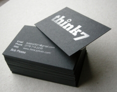think 7 Business Cards