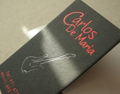 Carlos de Maria Business Cards
