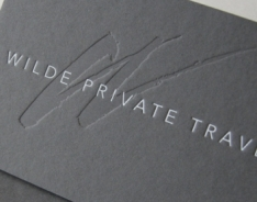 Wilde Private Travel Business Cards
