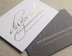 DW Print Business  Cards