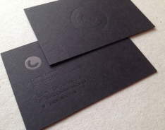Cam Brewer business card