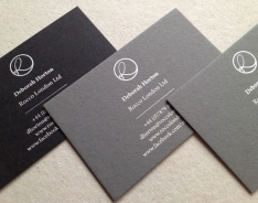 Deborah Horton business card