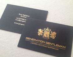 Generation Gentlemen business cards