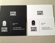Beatnik Games business cards