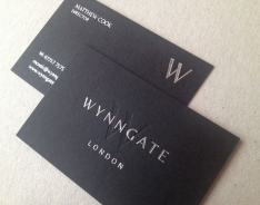 Wynngate business cards