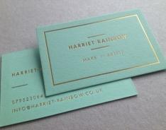 Harriett Rainbow business card