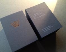 Wilcox business card