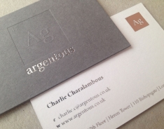 Argentous business cards