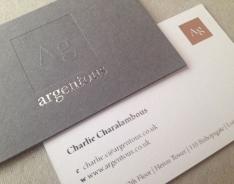 Argentous business cards