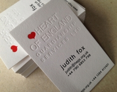 Heart of England Business Cards