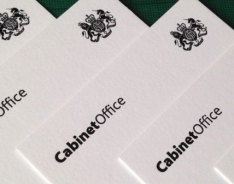 HM Cabinet Office Business Cards
