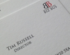 Biz Bus Business Cards