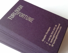 Turlough Fortune Business Cards