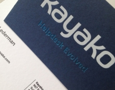 Kayako Business Cards