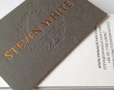Steven White Business Cards