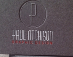 Paul Atchison Business Cards