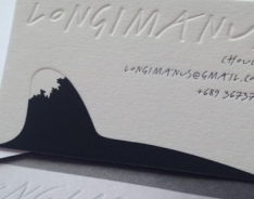 Longimanus Business Cards