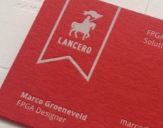 Lancero Business Cards