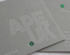 Ape UK Business Cards
