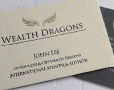 Wealth Dragons Business Cards