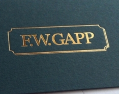F.W.Gapp Business Cards