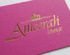 Ameerah Lounge Business Cards