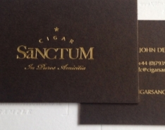 Sanctum Business Cards