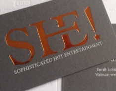 SHE! Business Cards