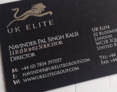 UK Elite Business Cards