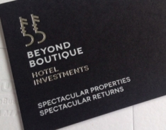 Beyond Boutique Business Cards