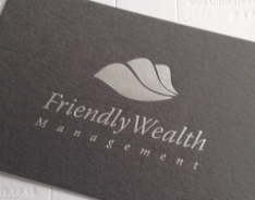 Friendly Wealth Management Business Cards