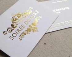 Soirée Business Cards